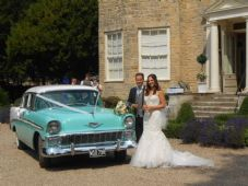 Vintage, Classic 1950's American Wedding Car Service - Doncaster Area